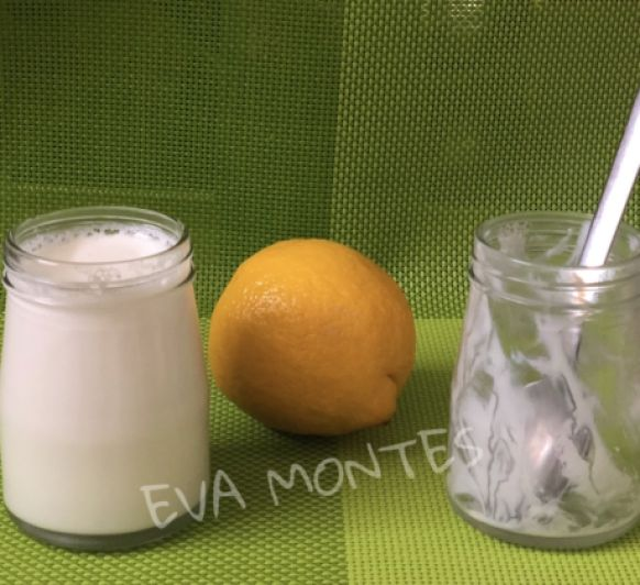 YOGURT DE LIMON EN Thermomix® TM6 (Modo Fermentar)
