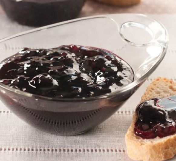 Mermelada ligera de cereza y fresa Con Thermomix®